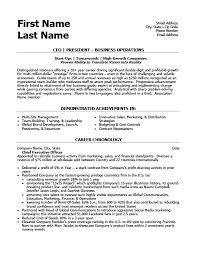 Ceo Resume Sample Doc by Ceo President Resume Template Premium Resume Samples U0026 Example