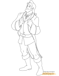 disney gaston coloring pages coloring