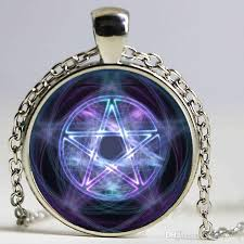 star statement necklace images Wholesale handmade magic circle space moon star ouija wicca gypsy jpg