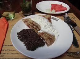 cuisine mousse au chocolat crèpe suzette avec crème fraiche et mousse au chocolat picture of