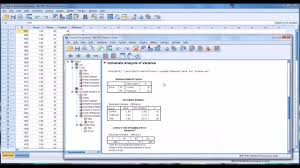 pretest and posttest analysis using spss youtube