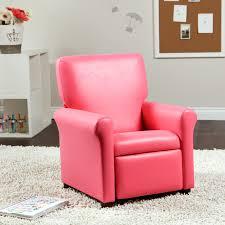 Toddler Recliner Chair Kidz World Oxygen Pink Kids Recliner Hayneedle