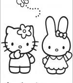 coloriage hello kitty gratuit a imprimer