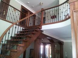 staircase designs interior modern wooden glass stair treads