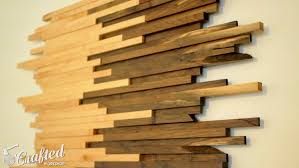 scrap wood wall made from walnut maple how to build