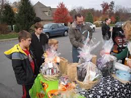 community service halloween party