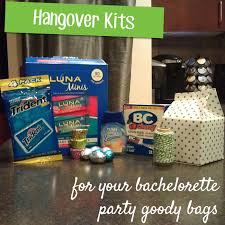 bachelorette party gift bags bachelorette party goody bags hangover kits mohans rule