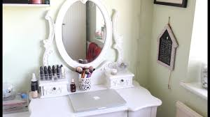 Small White Vanity Table Small White Dressing Table With Drawers Youtube