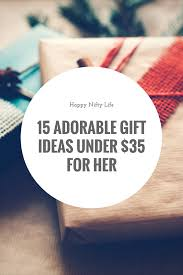 adorable gift ideas under 35 for her natural beauty products