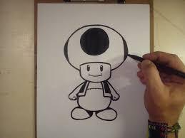 como dibujar toad mario bros draw toad mario bros