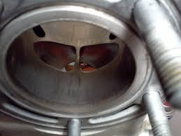 01 rm125 cylinder inspection suzuki 2 stroke thumpertalk