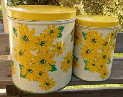 vintage canisters for kitchen 564 best vintage kitchen canister sets images on