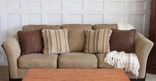 How To Make A Sofa Cover by How To Fix A Saggy Sofa Hometalk