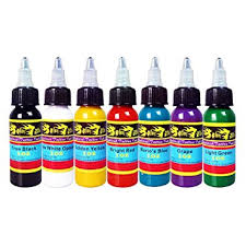 solong tattoo 7 basic colors tattoo ink set pigment kit 1oz 30ml