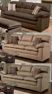 Simmons Upholstery Furniture Amazon Com Simmons Upholstery 3685 03 Lakewood Cappuccino Sofa