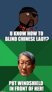 Chinese Lady Meme - y u no guy and asian father driver training imgflip