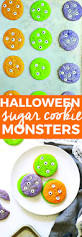 halloween sugar cookie monsters