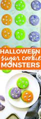 Easy Halloween Sugar Cookies Halloween Sugar Cookie Monsters
