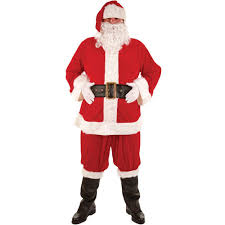 santa costume santa suit deluxe costume men standard co