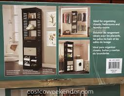 Costco Storage Cabinets Garage by Closets Costco Closets Garage Storage Systems Costco Wood