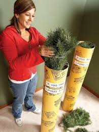 how to store an artificial tree tree store