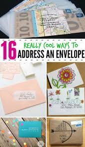 Which Side Of The Envelope Does The Stamp Go On Mail Art 16 Really Cool Ways To Address An Envelope The