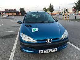blue peugeot for sale peugeot 206 s semi automatic for sale in chester cheshire gumtree