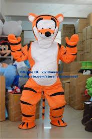 Tigress Halloween Costume Famous Orange Tigger Tigress Tiger Tigerkin Mascot Costume Cartoon