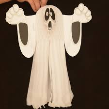 Halloween Decorations Tree Ghosts by Halloween Scary Props 3d Ghost Paper Pendant Diy Home Outdoor