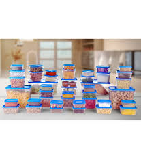 blue kitchen canisters all time polka kitchen containers set of 42 pcs blue buy online