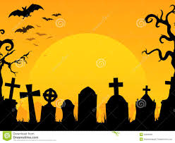 halloween graveyard background royalty free stock images image