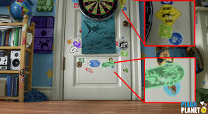 Toy Story Andys Bedroom Easter Eggs From U201ctoy Story 3 U201d Pixar Planet Fr