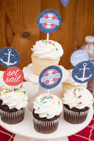 nautical cake toppers free nautical birthday and baby shower party printables catch my