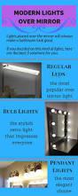 24 best modern bathroom lighting fixtures over mirror images on
