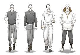 fashion illustration sketches men