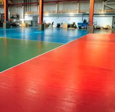 Industrial Epoxy Floor Coating Liquid Epoxy Resin Flooring Waxed Waxed Concrete Look High