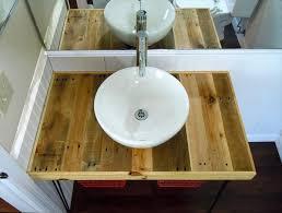 Diy Rustic Bathroom Vanity - bathroom cabinets from pallets nrtradiant com