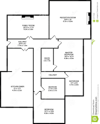 typical floorplan of a house royalty free stock photos image