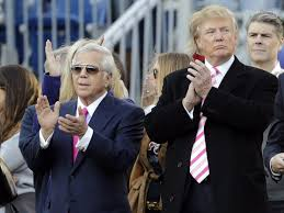 Donald Trump Family Pictures by Patriots Owner Robert Kraft Explains Why He Is Loyal To Donald