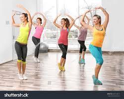 beautiful girls training gym stock photo 587712614 shutterstock
