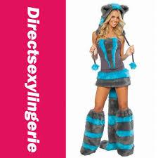Cheshire Cat Costume 2017 Fur Corset Costume Cheshire Cat Corset Costume Furry Cat
