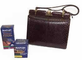 teinture cuir canapé teinter cuir de reptile entretien professionnel accessible à tous