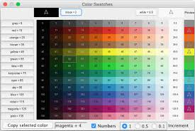 List Of Colours And Their Meanings Netlogo 6 0 2 User Manual Programming Guide