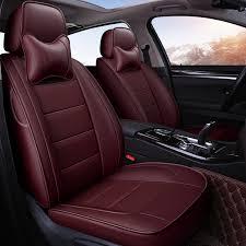 couvre siege cuir yuzhe auto siège de voiture en cuir couvre pour toyota rav4 land