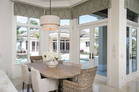 Beachy Dining Room by Cottage Dining Room With Travertine Tile Floors U0026 French Doors In