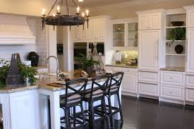 dark shabby white tile backsplash kitchens with no windows simple
