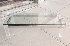 acrylic and glass coffee table extraordinary acrylic glass coffee table tables vs top velecio