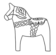 100 free printable coloring pages of horses image detail