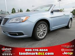 convertible jeep blue 2012 crystal blue pearl coat chrysler 200 limited convertible