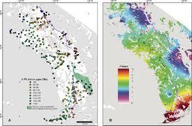 Sierra Nevada Mountains Map Thermal Evolution Of The Sierra Nevada Batholith California And
